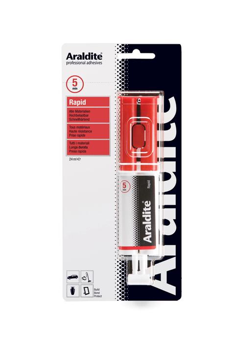 Zweikomponenten Klebstoff Rapid Spritze Araldit 663065900000 Bild Nr. 1