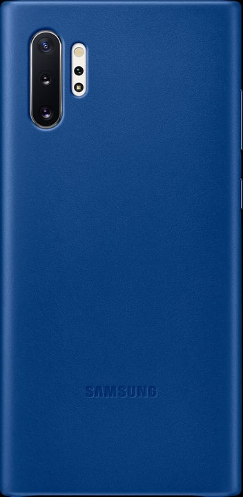 Leather Cover blue Coque Samsung 785300146386 Photo no. 1
