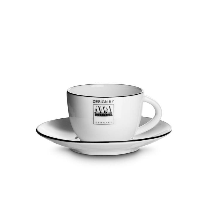 LIGNE NOIR tasse à espresso et soucoupe ASA 393093100000 Photo no. 1