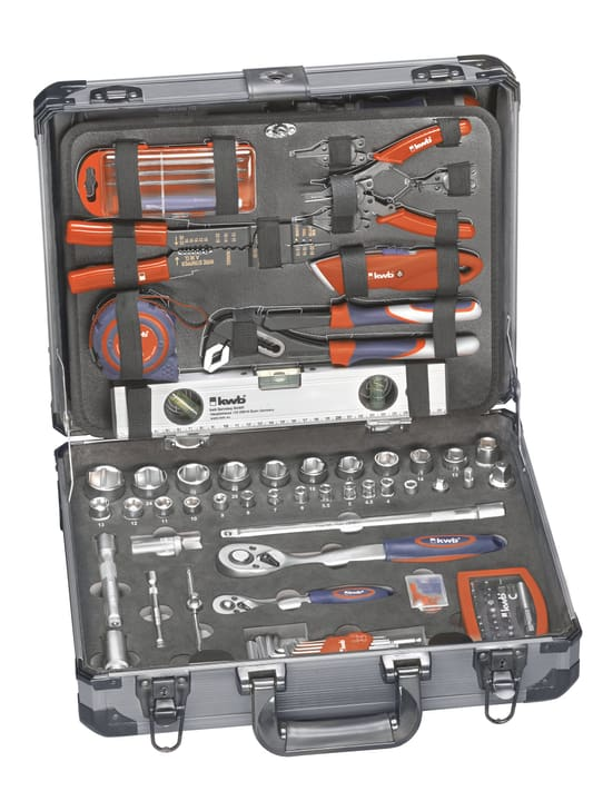Werkzeugkoffer 129-tlg. kwb 601291800000 Bild Nr. 1