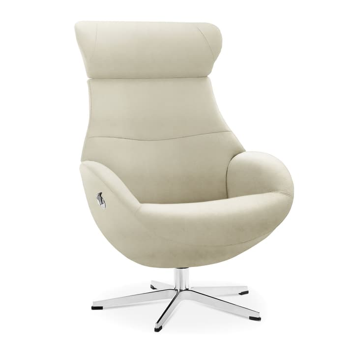 MEDIA Fauteuil 360040035003 Dimensions L: 81.0 cm x P: 80.0 cm x H: 90.0 cm Couleur Blanc Photo no. 1