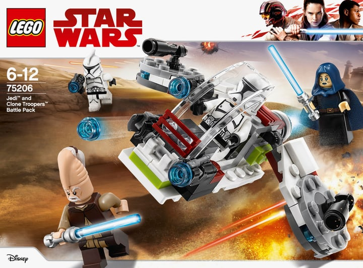 Lego Star Wars 75206 Pack de combat des Jedi™ et des Clone Troopers™ 748862400000 Photo no. 1