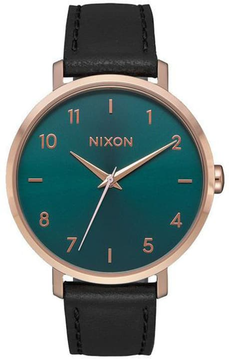 Arrow Leather Rose Gold Emerald 38 mm Montre bracelet Nixon 785300137016 Photo no. 1