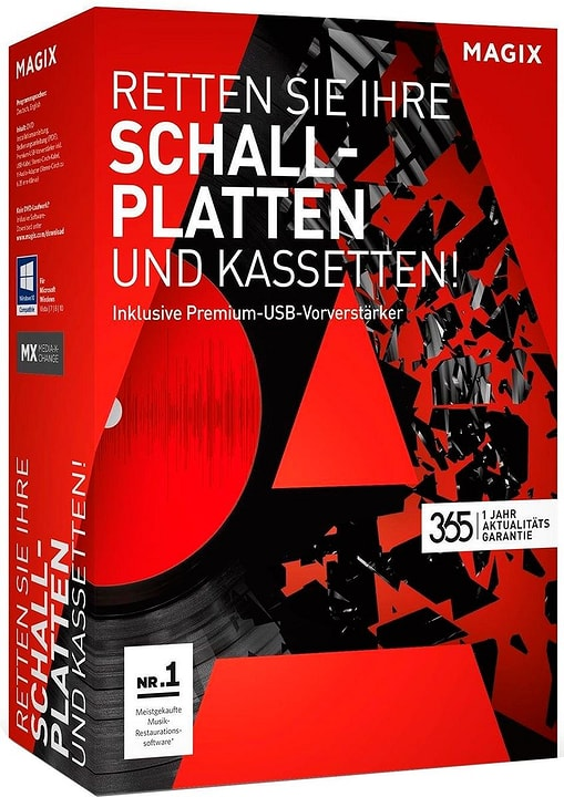 PC - Retten Sie Ihre Schallplatten & Kassetten (Aktualitätsgarantie) Fisico (Box) Magix 785300120914 N. figura 1