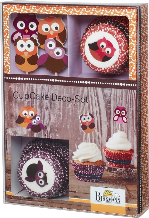 EULEN Set de deco cupcake 441108900000 Photo no. 1