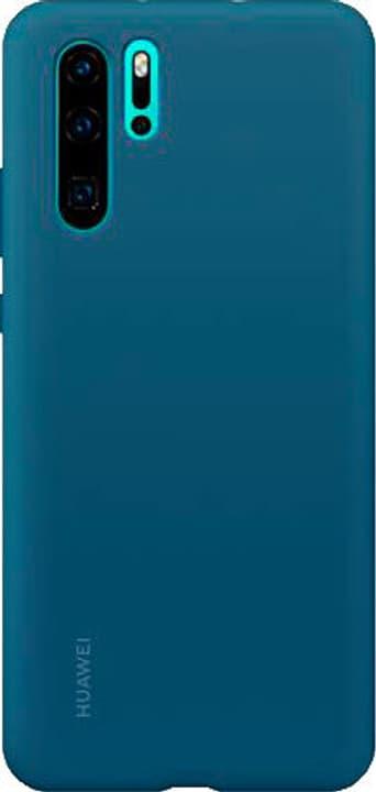 Hard-Cover Silicone Case blue Coque Huawei 785300143391 Photo no. 1