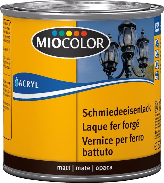 Schmiedeeisenlack Schwarz 375 ml Miocolor 661444300000 Farbe Schwarz Inhalt 375.0 ml Bild Nr. 1