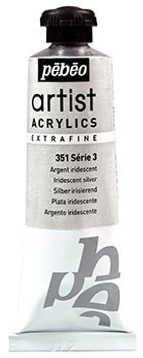 Acrylic EF 37 ml Pebeo 663568400000 Colore Argent iridescent N. figura 1