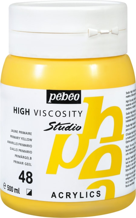 Pébéo High Viscosity Studio 500ml Pebeo 663534271048 Colore Giallo Primario N. figura 1