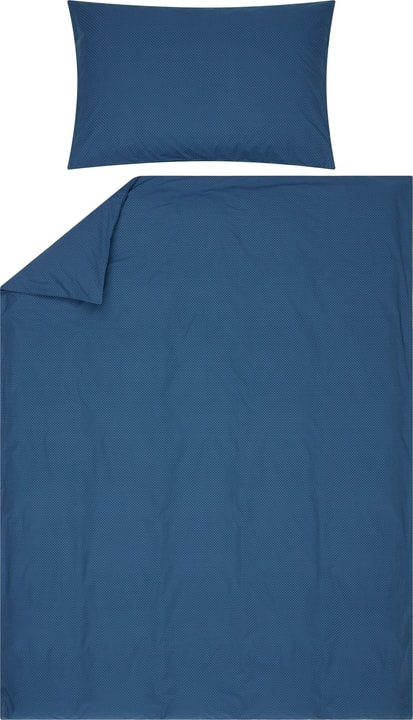 FABIAN Taie d'oreiller percale 451289910640 Couleur Bleu Dimensions L: 65.0 cm x H: 65.0 cm Photo no. 1