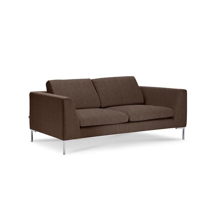 NEWTON Drom canapè à 2 places 360043437104 Dimensions L: 180.0 cm x P: 102.0 cm x H: 80.0 cm Couleur Brun Photo no. 1