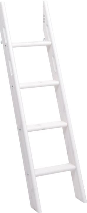 CLASSIC Echelle inclinée mi-hauteur Flexa 404944400000 Dimensions L: 44.0 cm x P: 57.0 cm x H: 142.0 cm Couleur White Wash Photo no. 1