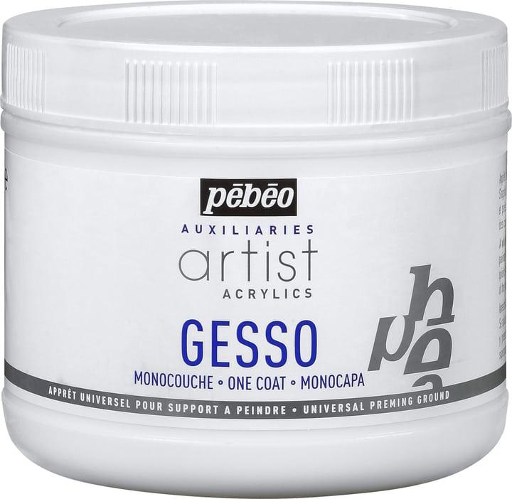 Acrylic Gesso 500ml Pebeo 663510300000 Contenuto 500ml N. figura 1