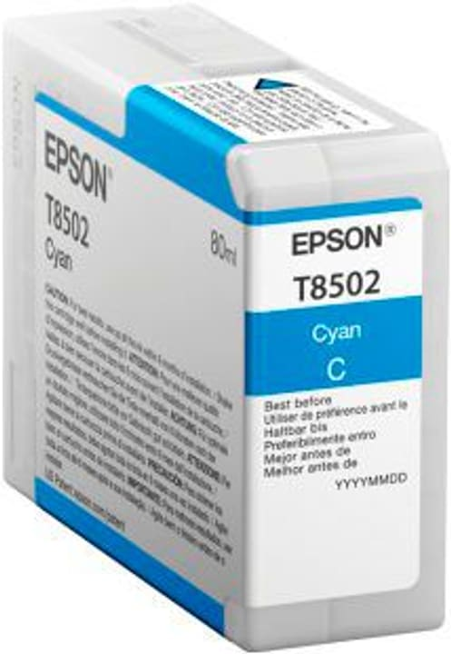 T8502  cyan Tintenpatrone Epson 785300122836 Bild Nr. 1