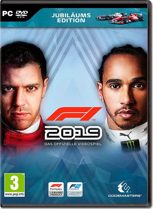 PC - F1 2019 Anniversary Edition Box 785300143946 Sprache Französisch Plattform PC Bild Nr. 1