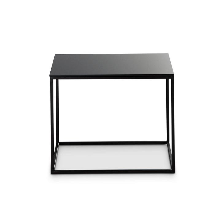 COFFEE table d'appoint 360970200000 Colore Nero Dimensioni L: 40.0 cm x P: 50.0 cm x A: 41.0 cm N. figura 1