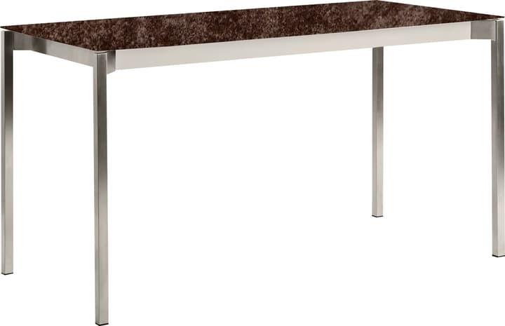 MALO Tavolo da giardino 408039814003 Dimensioni L: 140.0 cm x P: 80.0 cm x A: 75.0 cm Colore Iron Bronze N. figura 1