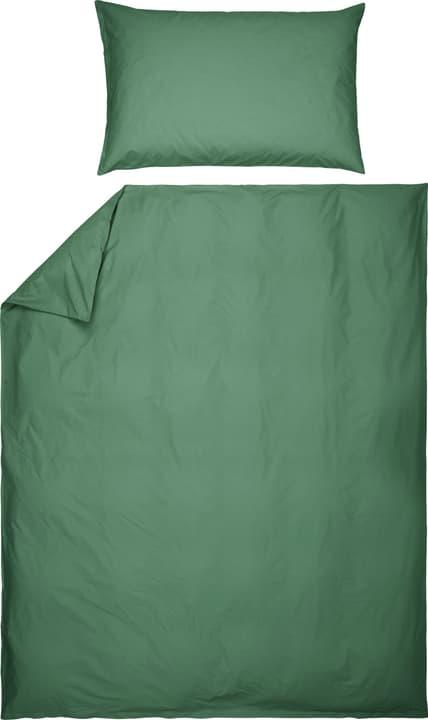ROMANO Fourre de duvet en percale 451192612360 Couleur Vert Dimensions L: 160.0 cm x H: 210.0 cm Photo no. 1