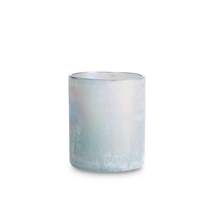 FROSTED Porte-bougies chauffe-plat 396063900000 Dimensions L: 12.0 cm x P: 12.0 cm x H: 14.0 cm Couleur Gris Photo no. 1
