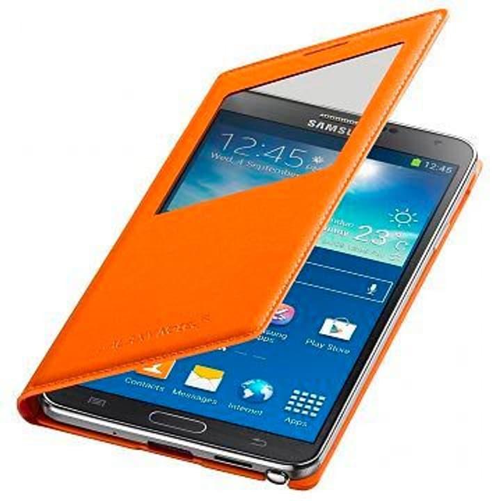 Galaxy Note 3 S View Cover - orange Samsung 798000600000 Photo no. 1