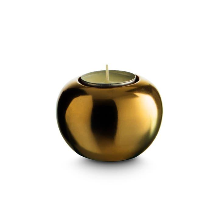CHUNKY Porte-bougies chauffe-plat 396079700000 Dimensions L: 7.0 cm x P: 7.0 cm x H: 5.0 cm Couleur Couleur or Photo no. 1