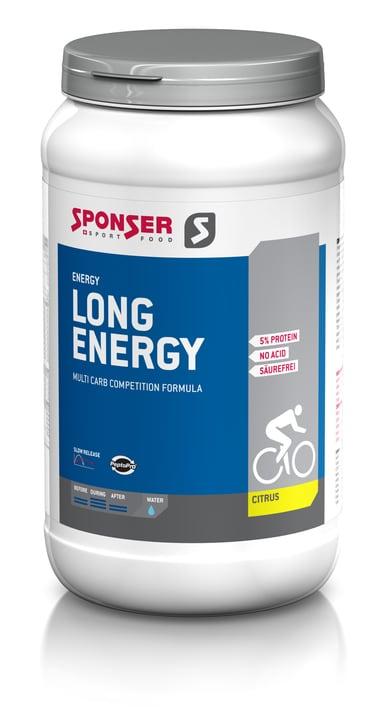 Long Energy Competition Poudre énergétique 1200 g Sponser 471900300100 Goût Citrus Photo no. 1