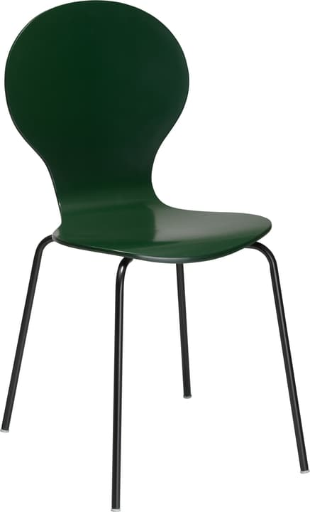 JACOBI Chaise 403827506020 Dimensions L: 46.0 cm x P: 44.0 cm x H: 85.0 cm Couleur Vert Photo no. 1