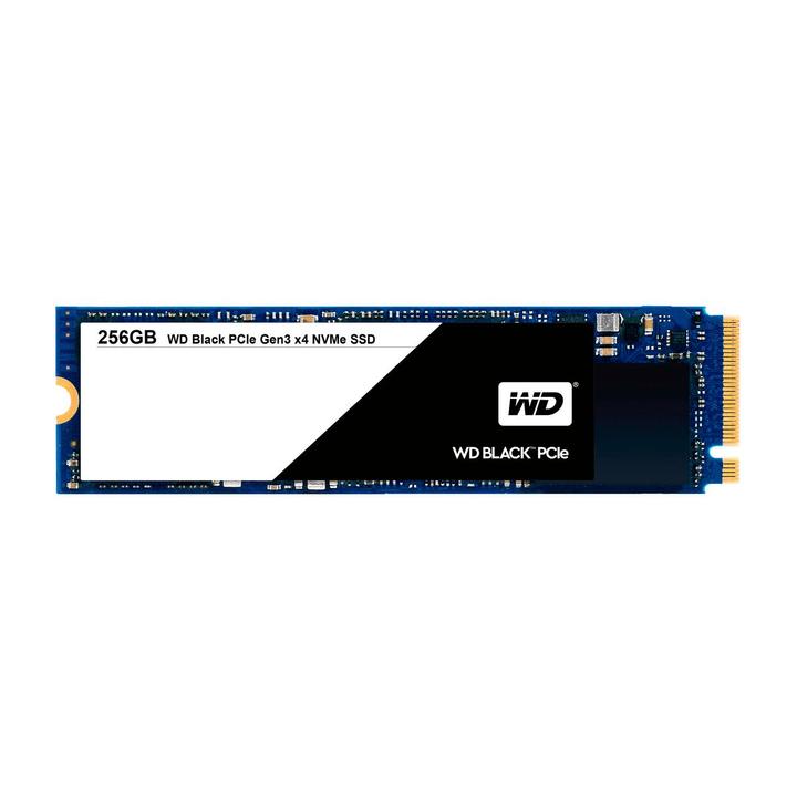 WD Black PCIe SSD intern 256GB M.2 2280 SSD Intern Western Digital 785300124429 Bild Nr. 1