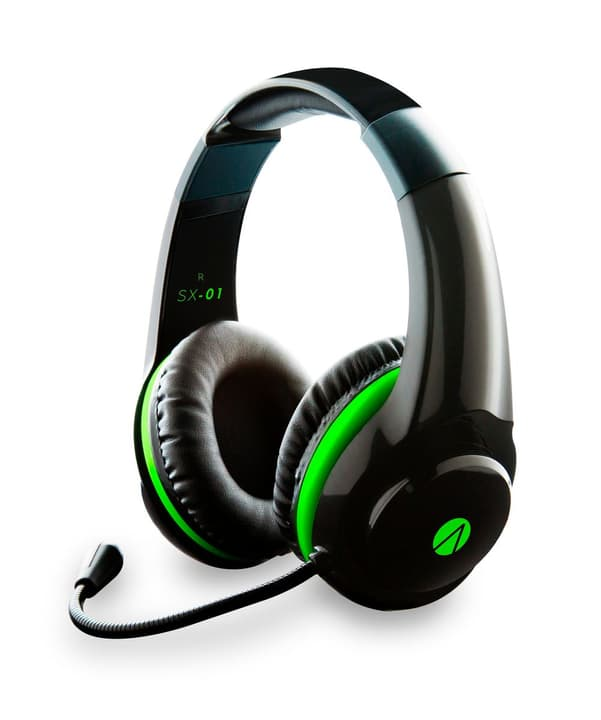 Stealth SX-01 Gaming Stereo Headset nero Stealth 785300127228 N. figura 1