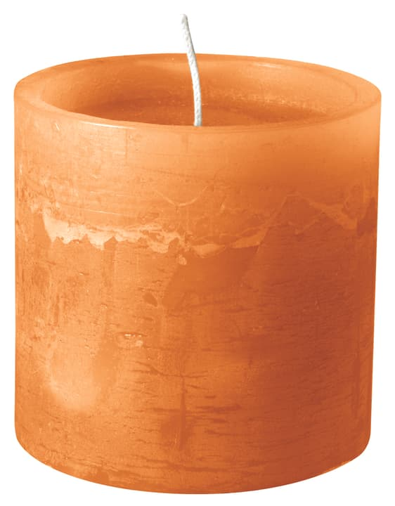 BAL Bougie cylindrique 440582901334 Couleur Orange Dimensions H: 10.0 cm Photo no. 1