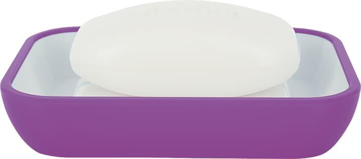Porte-savon Cocco spirella 675017900000 Couleur Violet Taille 12 x 8.5 cm Photo no. 1