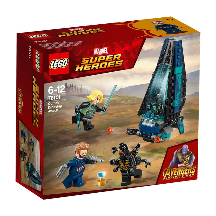 Lego Marvel Super Heroes 76101 748876200000 Photo no. 1