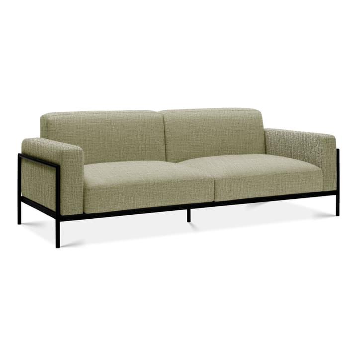 SOMA Canapé à 2 places Edition Interio 360434620361 Dimensions L: 226.5 cm x P: 88.5 cm x H: 85.0 cm Couleur Vert clair Photo no. 1