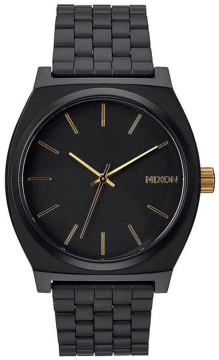 Time Teller Matte Black Gold 37 mm Montre bracelet Nixon 785300136953 Photo no. 1