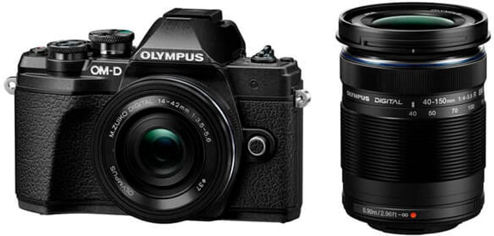 E-M10 III Double Zoom Kit Black Olympus 785300145156 Photo no. 1