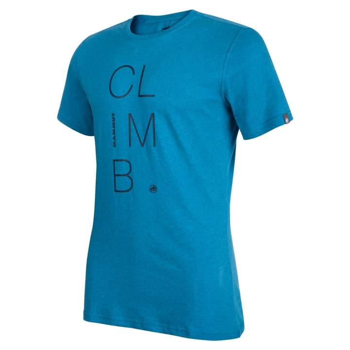 Massone T-Shirt pour homme Mammut 462779300342 Couleur bleu azur Taille S Photo no. 1