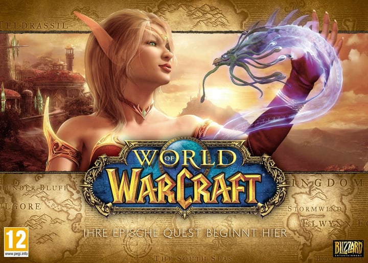 PC/DVD - World of Warcraft: Battlechest 4.0 Fisico (Box) 785300117808 N. figura 1