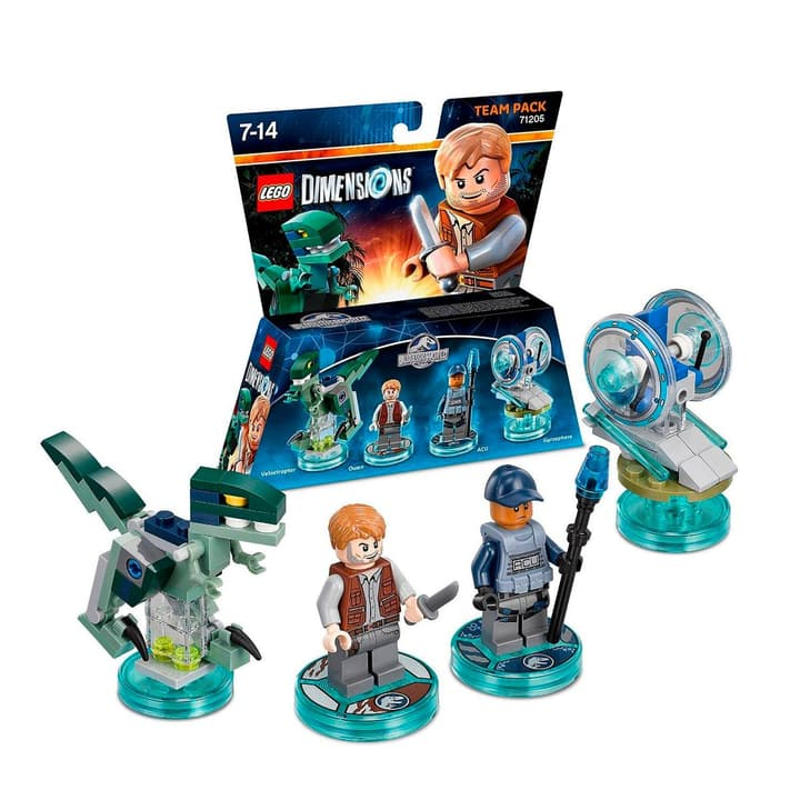 LEGO Dimensions Team Pack Jurassic World 785300120112 N. figura 1