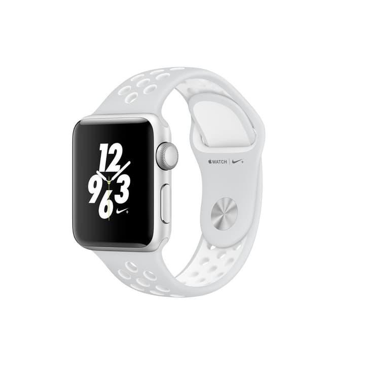 Watch Nike+ 42mm Alu Silver Sport Band Platinum/White Apple 798181300000 Photo no. 1