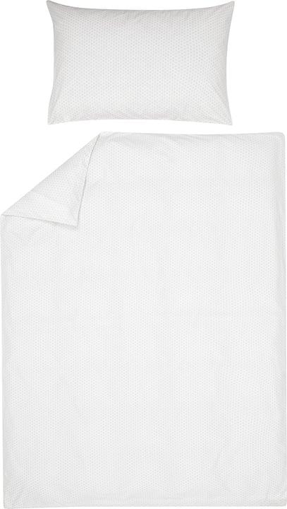 EMMA Federa per cuscino percalle 451194810681 Colore Grigio chiaro Dimensioni L: 65.0 cm x A: 65.0 cm N. figura 1