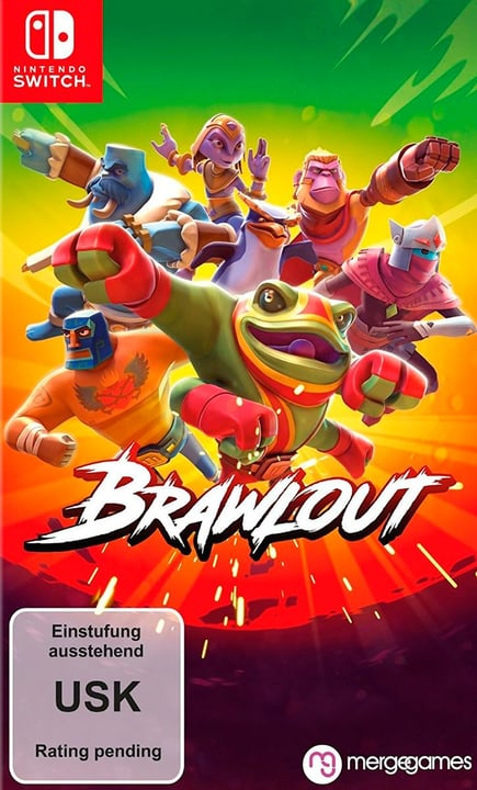 Switch - Brawlout (D) Box 785300135008 N. figura 1