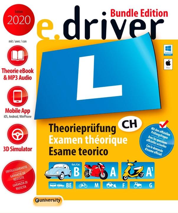 e.driver 2020 Bundle Edition D/F/I/E Physique (Box) euniversity 785300139384 Photo no. 1