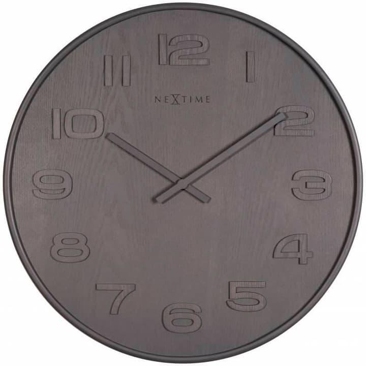 Orologio da parete Legno Legno Grigio Grosso di Horologe murale NexTime 785300138500 N. figura 1