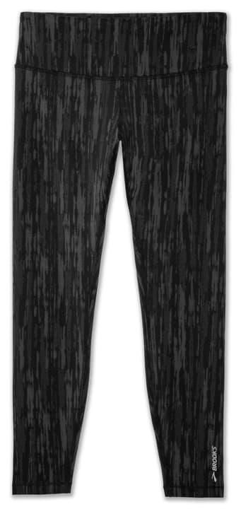 Formation Crop 7/8 Leggins pour femme Brooks 470191500520 Couleur noir Taille L Photo no. 1