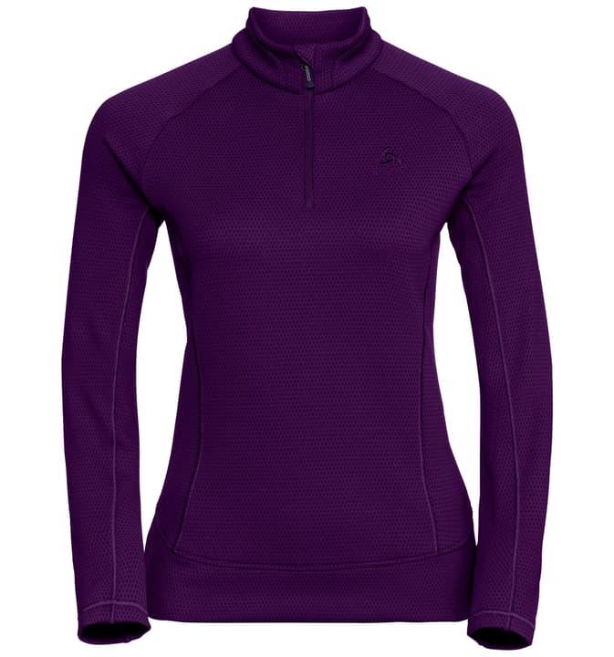Inyo T-shirt à manches longues pour femme Odlo 477071800328 Couleur aubergine Taille S Photo no. 1