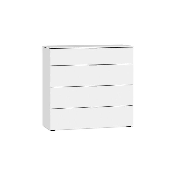 MILO Commode 364151400000 Couleur Blanc Dimensions L: 90.0 cm x P: 43.0 cm x H: 87.0 cm Photo no. 1