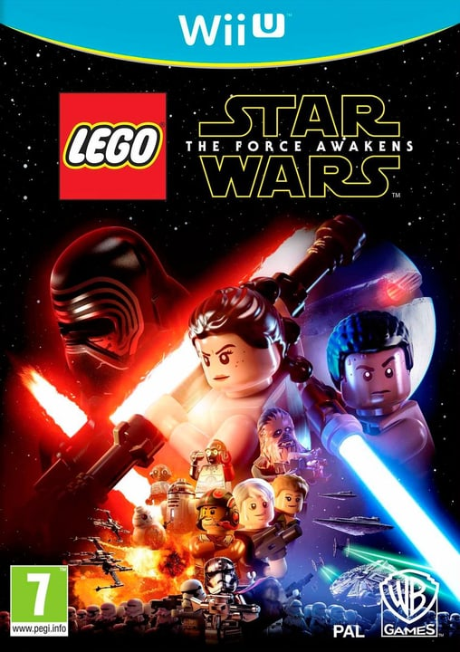 Wii U - LEGO Star Wars The Force Awakens Box 785300120866 Photo no. 1