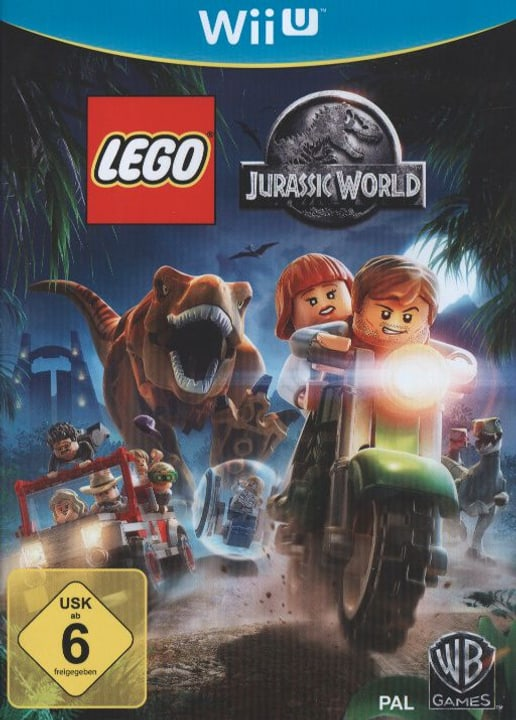 Wii U - LEGO Jurassic World Box 785300121658 Photo no. 1