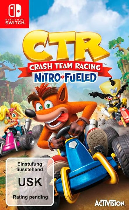 NSW - CTR Crash Team Racing - Nitro-Fueled Box 785300142858 Langue Allemand Plate-forme Nintendo Switch Photo no. 1
