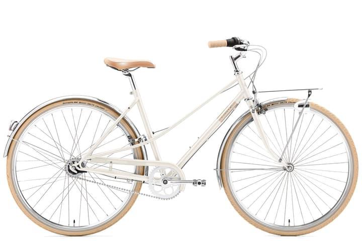 "Caferacer Solo Women 28"" Citybike Creme 463325504410 Rahmengrösse 44 Farbe weiss Bild Nr. 1"